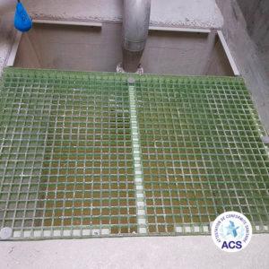 Fordiatec caillebotis ACS pour bâtiment eau potable