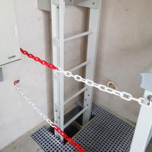 Fordiatec échelle pour bâtiment assainissement