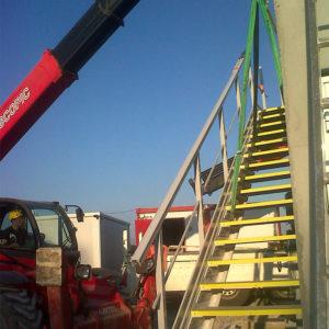 Fordiatec escalier pour accès équipement
