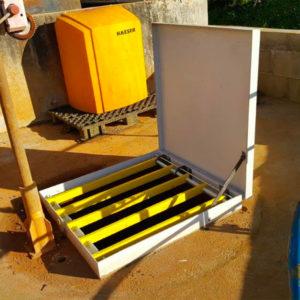 Fordiatec trappe anti-chute pour équipement eau potable